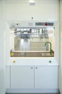 Viking Plastics double sided fume cupboard