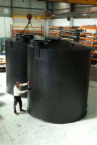 plastic industrial tanks
