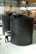 Custom plastic tanks for Coliban Water