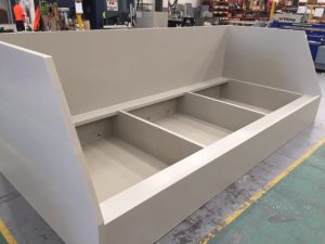 Viking Plastics' bunds are manufactured to bespoke design