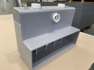Viking Plastics' Custom Swimming Pool Accessories - Skimmer Box