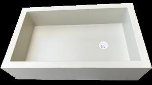 Removable wash trough